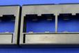 泛达超五类24口配线架,1U带模块。带标签,一体化