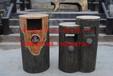 仿木垃圾桶户外仿树皮垃圾箱混凝土仿木纹制品制作厂家