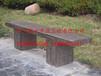 新型环保高强轻质水泥仿木桌子仿木椅子仿树皮凳子组合式仿木桌椅