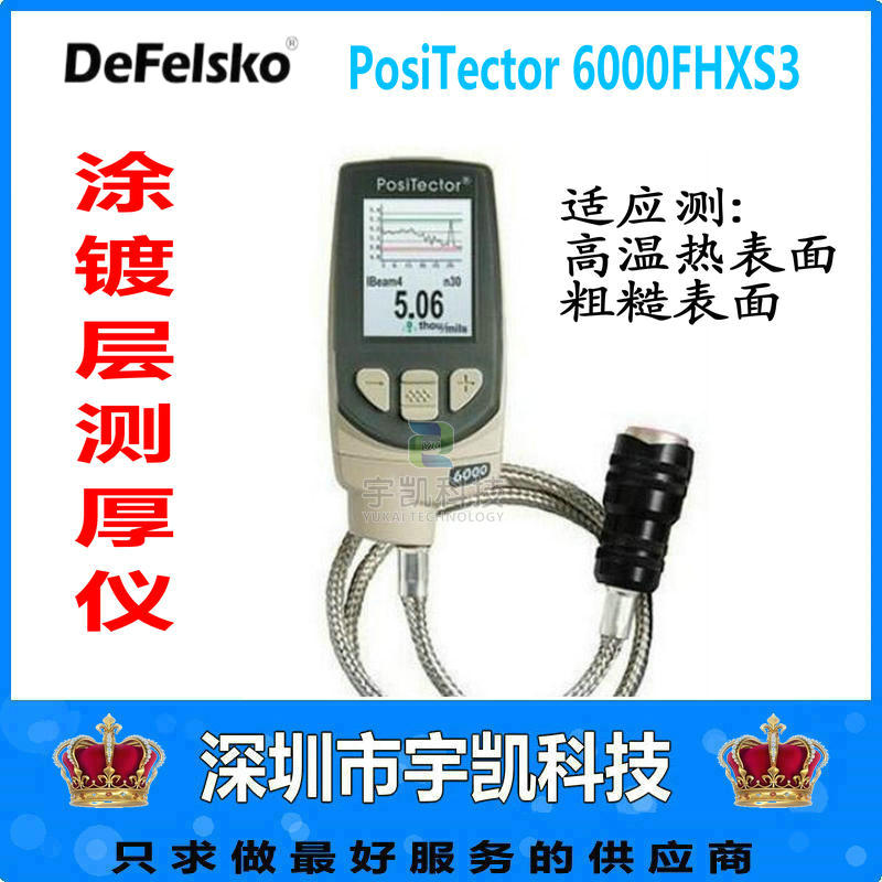美国Defelsko6000FHXS3高温热表面镀层测厚仪