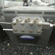廊坊二手4吨高压均质机质量怎么样,二手乳品高压均质机