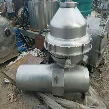 南京二手净乳机,二手304不锈钢牛奶乳品生产313型碟式净乳机图片