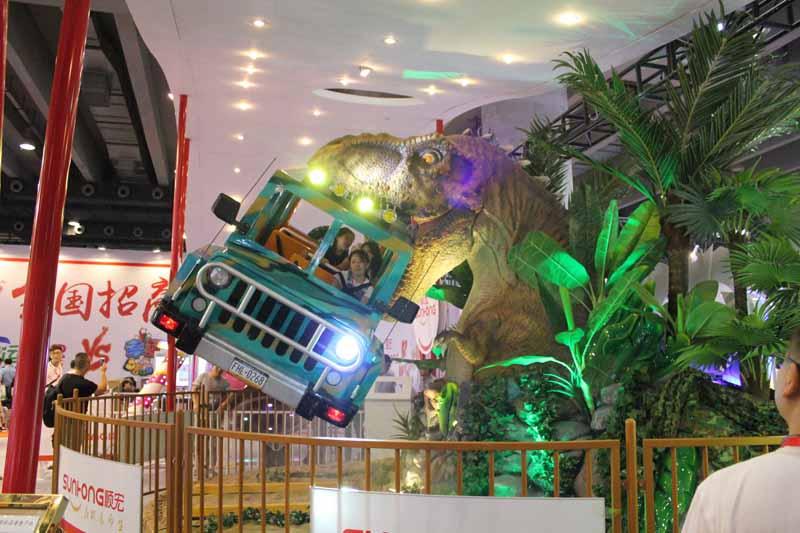 勇闯侏罗纪游乐设备、广州GIT展新款产品、顺宏新品