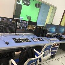 4K虚拟演播室设计与演播室装修全套报价图片