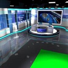 北京慧利创达GVS虚拟演播室系统电视台演播室厂家直销图片