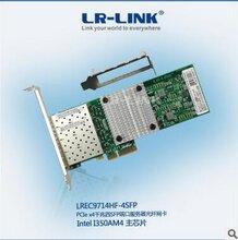 4口千兆光纤服务器网卡LREC9714HF-4SFP
