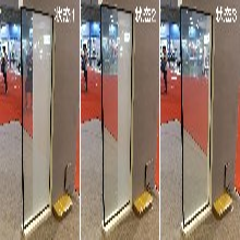 分屏调光雾化玻璃智能分段式控制百页窗厂家