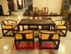 浙江杭州红木家具哪里买港龙红木家具批发火烧石大红酸枝茶台