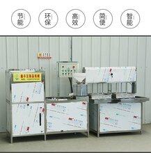 萍乡家用自动豆腐机豆腐机生产厂家十年保修现场试机图片