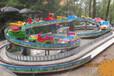 大型迷你穿梭12车轨道火车广场室内游乐设备儿童电动游乐场