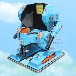 室外儿童游乐设备广场机器人行走电动车乐吧车战火金刚厂家