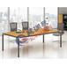 厂家直销物美价廉板式办公桌职员桌