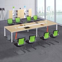 新款綠色環保板式會議桌會議桌框架會議桌圖片
