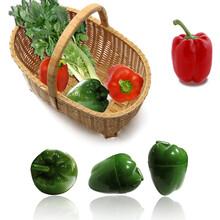 创意塑料蔬菜保鲜盒辣椒盒大蒜盒西红柿盒洋葱保鲜盒图片