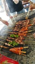 上海野外露营篝火晚会烧烤聚会场地