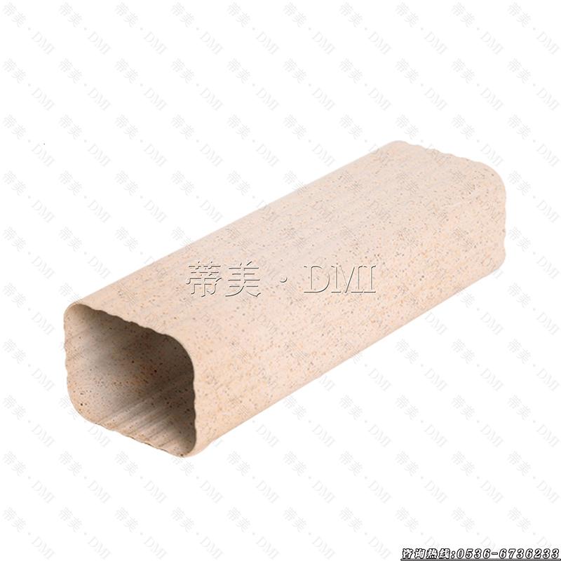 彩铝方形雨水管的厚度