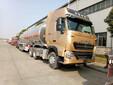 国五重汽豪沃新款40吨铝合金半挂油罐车大概多少钱一台图片