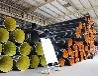 pe钢带波纹管1300价格生产厂家直销地埋排污管