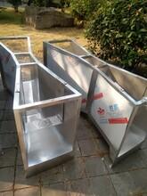 污水巴歇尔槽,不锈钢材质图片