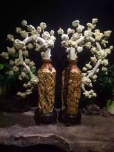 白桦根雕104-58-25工艺品收藏品实木艺术品