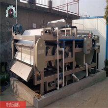 不锈钢带式压滤机污泥压滤机带式污泥压滤机郑州热卖图片