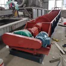 洗砂设备螺旋分级机螺旋洗砂机洗砂机厂家锦翔图片