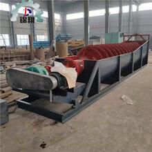 洗砂机设备螺旋洗砂机厂家螺旋洗砂机定制包子视频图片