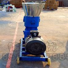 饲料颗粒机设备颗粒饲料成型机玉米秸秆饲料颗粒机210型平模饲料颗粒机图片