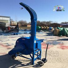 大型铡草机秸秆粉碎机铡草揉丝机铡草机柴油版的耗油多的原因淮州图片