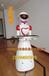 智能迎宾餐厅厨房机器人送餐传菜机器人服务员智能人机对话机器人
