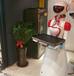 餐厅智能送餐传菜自动送菜端菜酒店迎宾服务机器人饭店无轨服务员