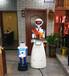 廠家直供餐廳送餐迎賓向導機器人