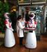 餐廳智能送餐傳菜送菜端菜迎賓服務機器人傳菜機服務員機器人