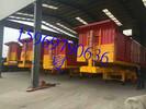 四十方水泥罐车云南普洱市13米低平板挂车