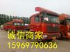 廣西柳州二手半掛車牽引車歐曼13米標箱高欄平板可貸款