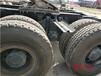茂名化州市二手低平板挖掘機運輸拖板半掛車