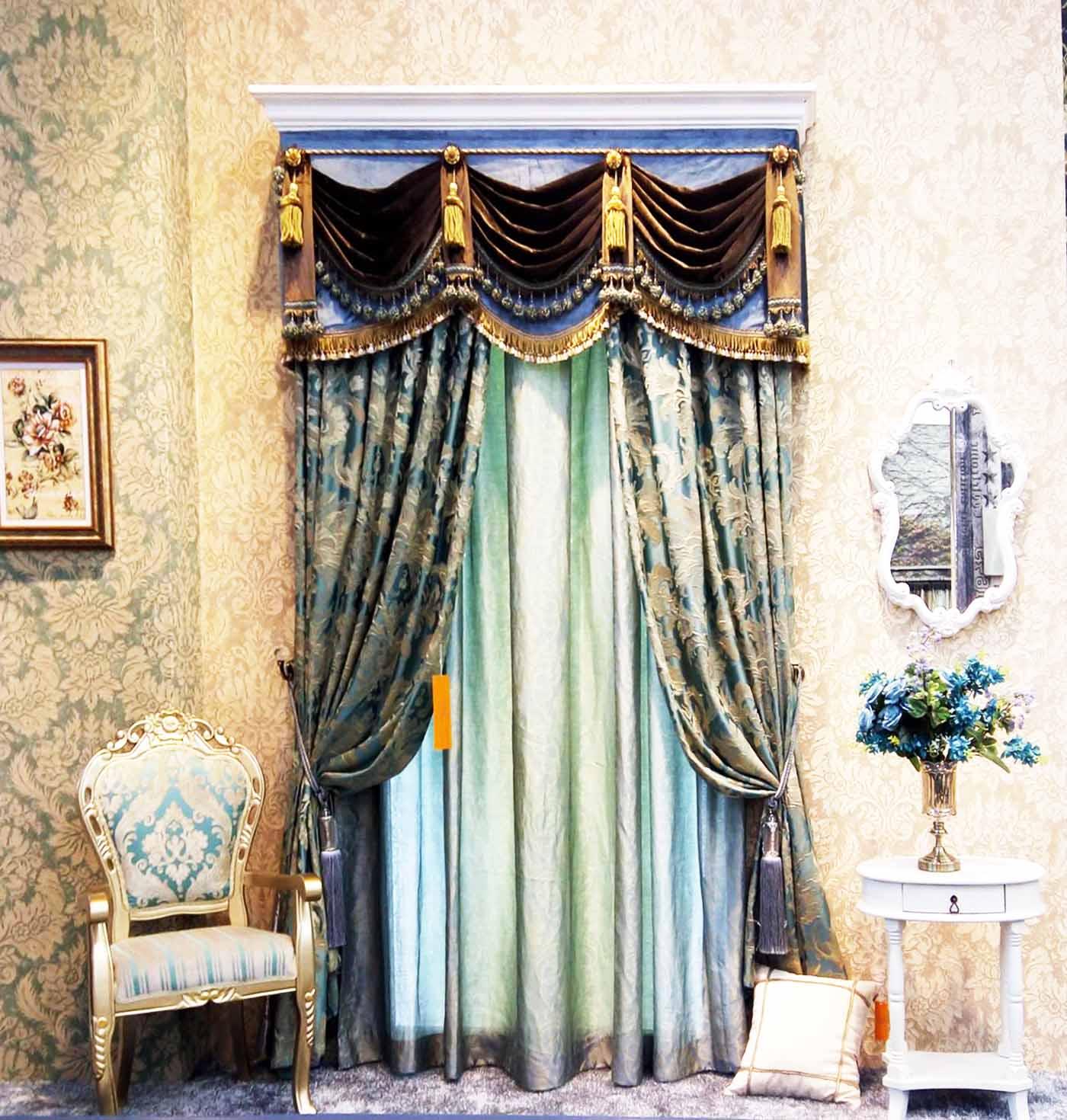 窗帘布艺图片