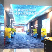 长沙开业布置公司气球立柱开业首选引进客流活跃开业气氛图片