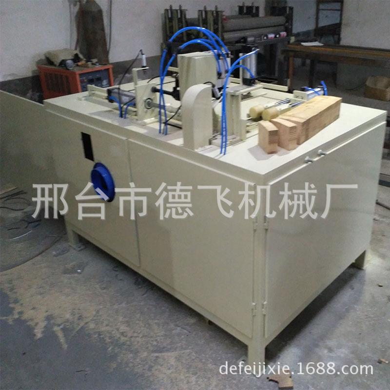 河北厂家供应新品木托盘脚墩断木锯木方截断机