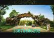 洛阳洛龙区制作生态园大门