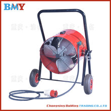 工地专用15kw电热风机大功率暖风机吹干地坪腻子粉刷烘干图片