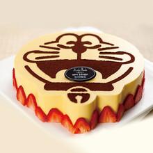 深圳考拉菲比多拉A梦机器猫卡通儿童蛋糕(芒果慕斯)图片
