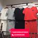 成都荷花池夏季时尚韩版女装纯白短袖T恤衫背带短裤三件套批发2017网络热销爆款特别的时尚韩版女装批发
