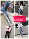 青岛10元牛仔裤清仓网络热销爆款时尚几块钱十元以内女装T恤牛仔裤批发