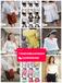 广州白马女装批发夏装1-20元潮流时尚韩版女装上衣T恤批发棉麻女士上衣批发货到付款