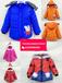棗莊冬季童裝批發一手貨源冬季10-12歲童裝羽絨棉服批發貨到付款中大童加厚棉衣批發