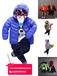 北京动物园今年新款童装棉衣批发30-50元一手货源童装批发轻薄款童装棉衣棉袄批发网站