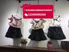 山西太原韩版纯棉休闲女童套装批发洋气中小童3-8岁潮款中小童童装短袖套装批发