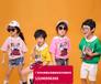 河北邯鄲韓版洋氣女童套裝T恤連衣裙批發5-20元新款童裝批發開童裝店面在哪里進貨便宜