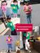 貴州畢節時尚新款低價韓版童裝批發5-10元夏季低價純棉短袖T恤小衫套裝批發貨源